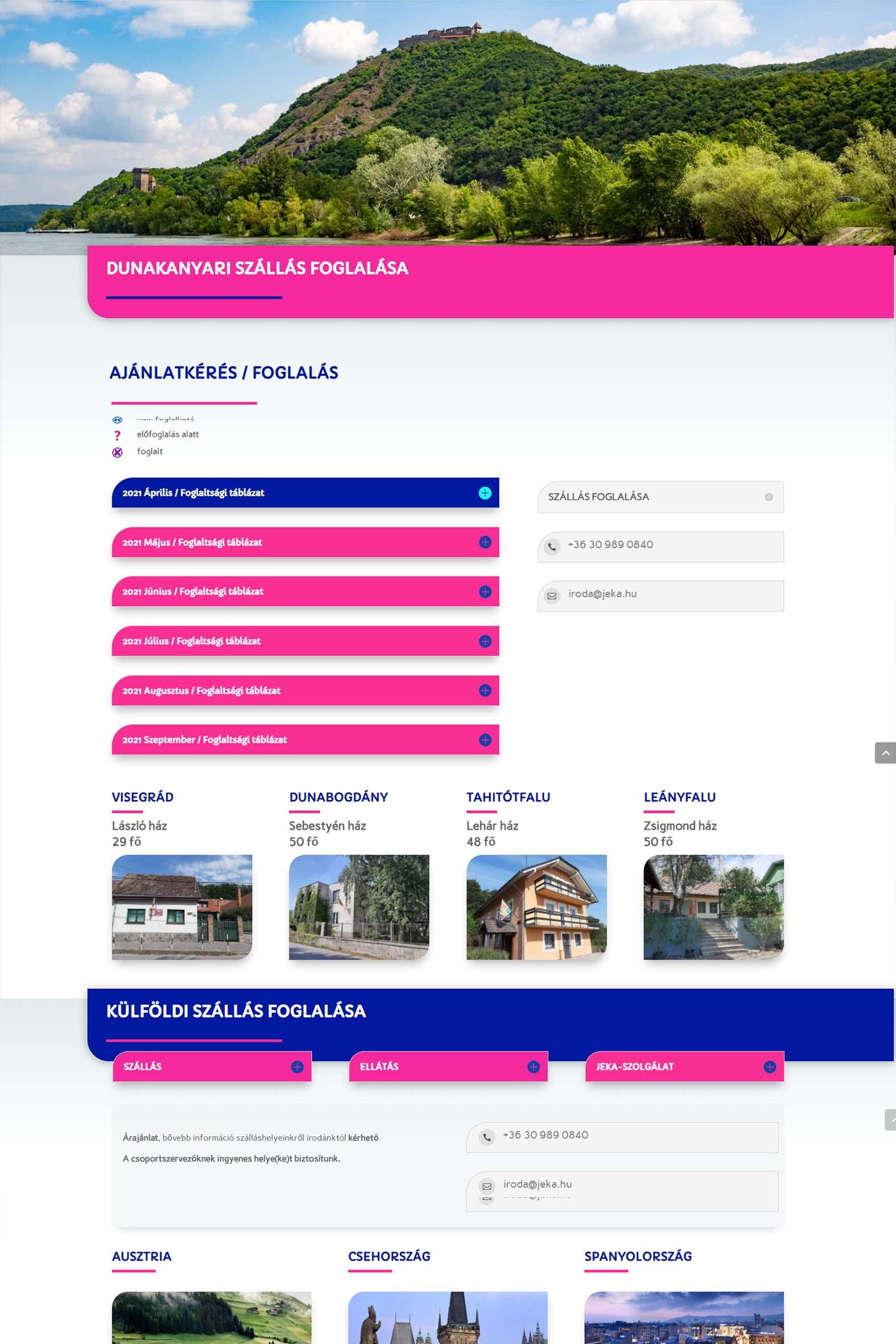 jeka.hu honlapja